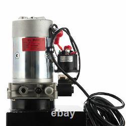 Preenex Simple Effet Pompe Hydraulique De Remorque Benne 12 Réservoir Métal Pintes