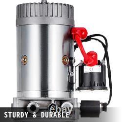 Remorque À Décharge Hydraulique À Action Unique De 15 Litres Soulevant 12v Plastique