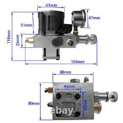 Simple Effet De Puissance Hydraulique Unité D 'emballage Engrenages Pompe À Huile 12v Réservoir Dump Remorque Lift