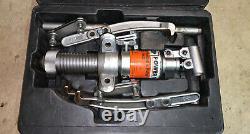 Spx Power Team 6 Ton Hydraulique 2 Ou 3 Pull À Mâchoires Ph63c Great Used Condition