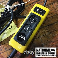 Spx Stone / Fenner 12vdc Simple Effet Hydraulique Unité De Puissance, 3-qt, Pompe, Dump, Ascenseur