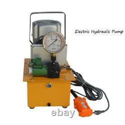 Techtongda 110v Pompe Hydraulique Électrique Haute Pression 750w 10000 Psi