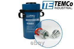 Temco Cylindre Hydraulique Hollow Ram 60 Ton 4 En Avancement Garantie De 5 Ans