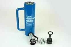 Temco Hc0008 Cylindre Hydraulique Ram Simple Agissant 10 Ton 6 Pouces
