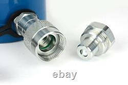 Temco Hc0010 Cylindre Hydraulique Ram Simple Effet 20 Tonnes 4 Pouces Stroke