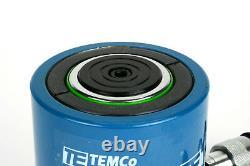 Temco Hc0015 Cylindre Hydraulique Ram Simple Effet 50 Tonnes 2 Pouces Stroke