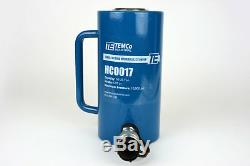 Temco Hc0017 Cylindre Hydraulique Ram Simple Effet 50 Tonnes 6 Pouces Stroke