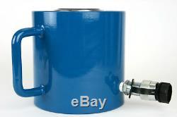 Temco Hc0018 Cylindre Hydraulique Ram Simple Effet 100 Tonnes 2 Pouces Stroke