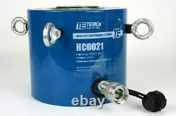 Temco Hc0021 Cylindre Hydraulique Ram Simple Acting 150 Ton 2 Inch Stroke