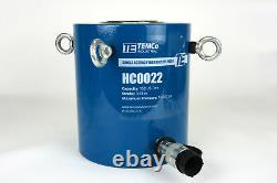 Temco Hc0022 Cylindre Hydraulique Ram Simple Acting 150 Ton 4 Inch Stroke