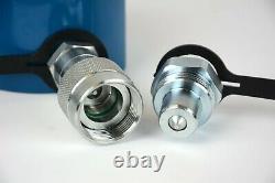 Temco Hc0031 Cylindre Hydraulique À Basse Hauteur De Profil 10 Tonnes, 0,39 Avertissement