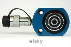 Temco Hc0032 Low Profile Height Hydraulic Cylinder Puck 20 Ton, 0.43 Course