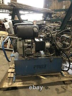 Unité D'alimentation Hydraulique Foster Avec Moteur Diesel Yanmar 10ch