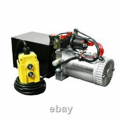 Unité Hydraulique À Double Action 12v DC Dump Trailer 6 Quart Avec Télécommande