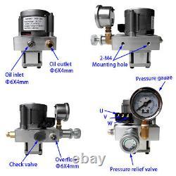 Unité Pompe Hydraulique Électrique Bloc D'alimentation 12v DC 10mpa Pompe À Huile Kit Simple Effet
