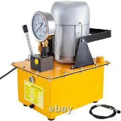 Vevor Pompe Hydraulique Électrique 2 Étape Unique Agissant 10000 Psi 7l Huile Capa 110v