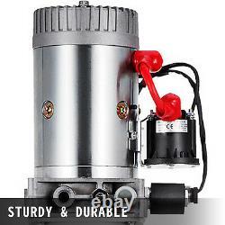 Wagon De Déchargement De Pompe Hydraulique À Action Unique De 12 Litres Déchargeant La Voiture D'unité De Puissance